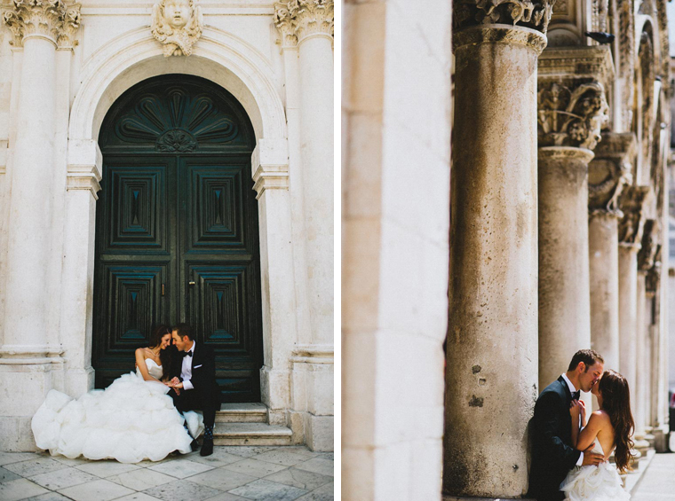 Wedding photographer in Dubrovnik Croatia