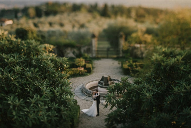 beautiful wedding in tuscany