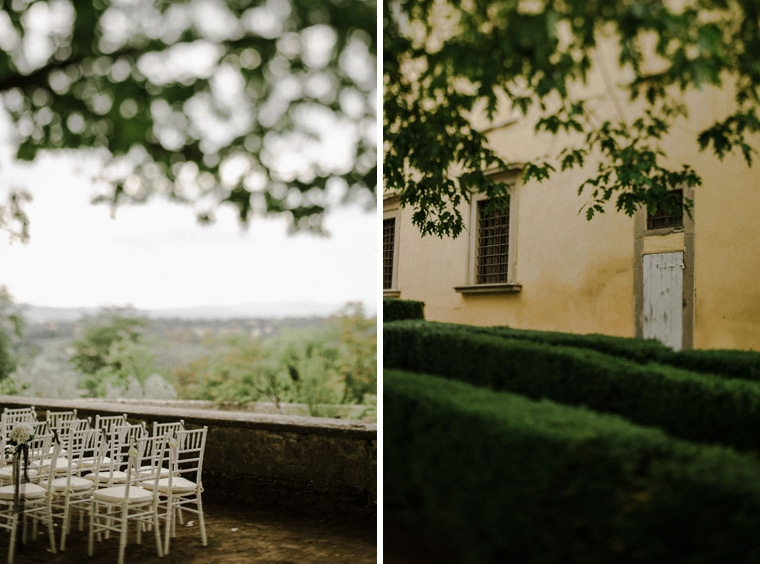 getting married in villa di maiano