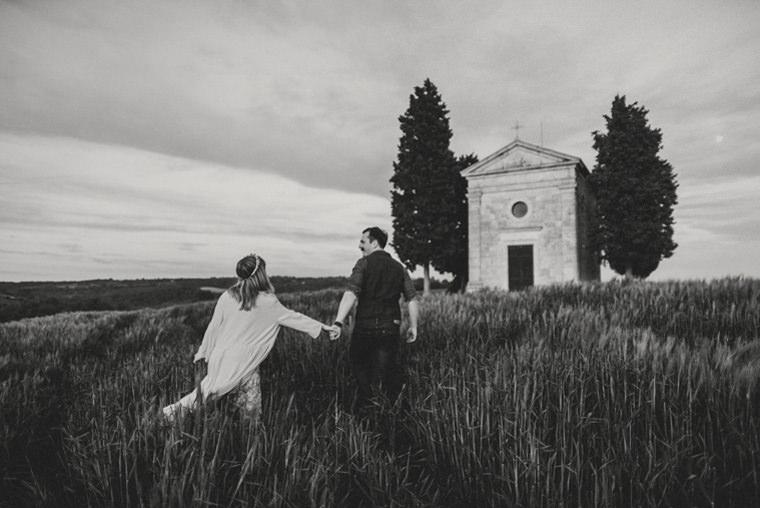 wedding photographer capella della madonna di vitaleta