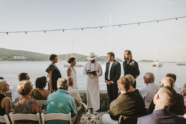 Wedding ceremony in Frutaria Vis