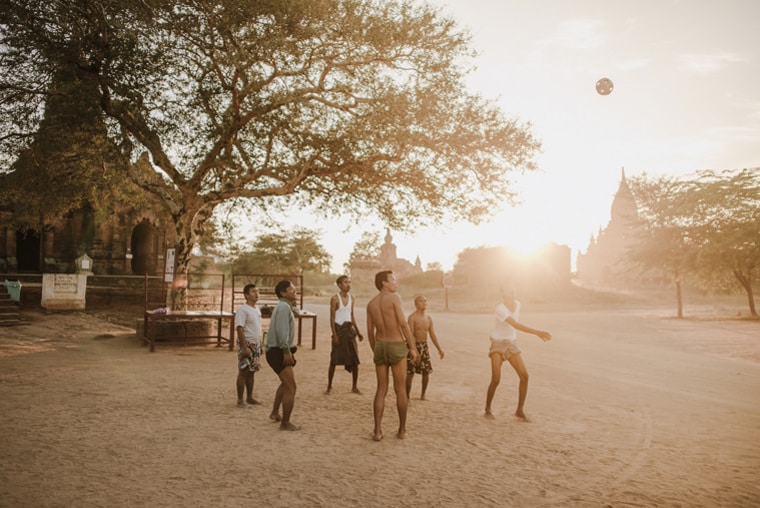 every day life in bagan