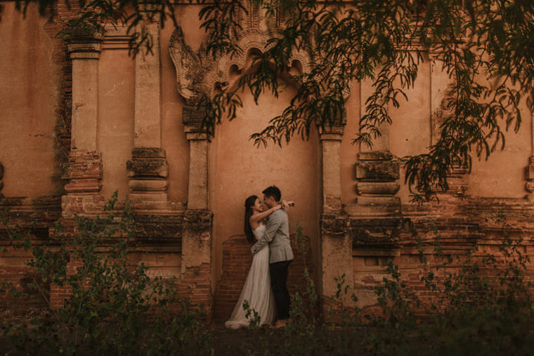best wedding locations in bagan myanmar