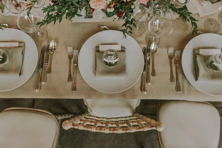 blanche fleur wedding setup