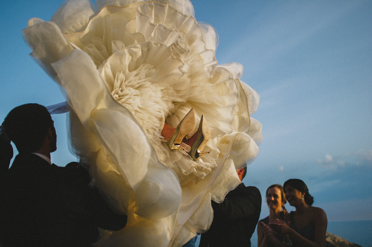 First dance Dubrovnik Croatia, wedding dress garment
