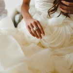 Wedding ring and dress Dubrovnik Croatia