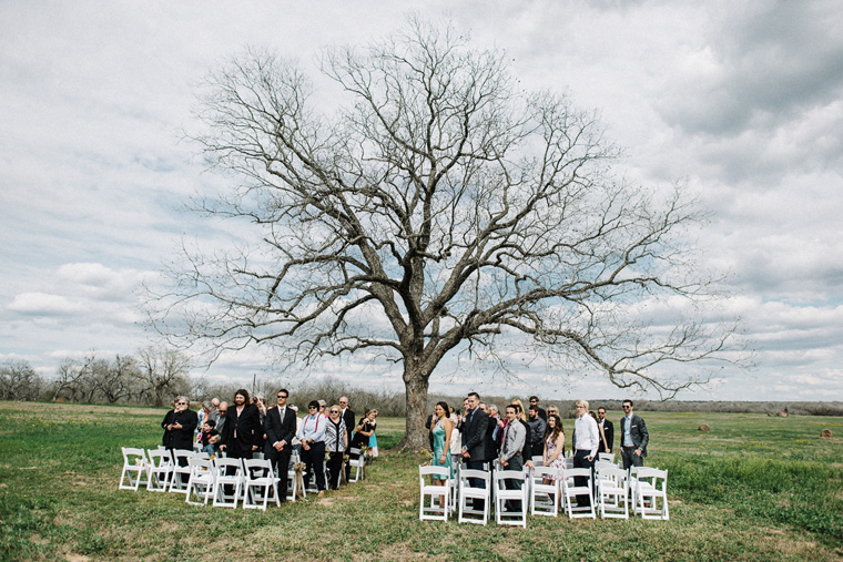 beautiful farm wedding texas
