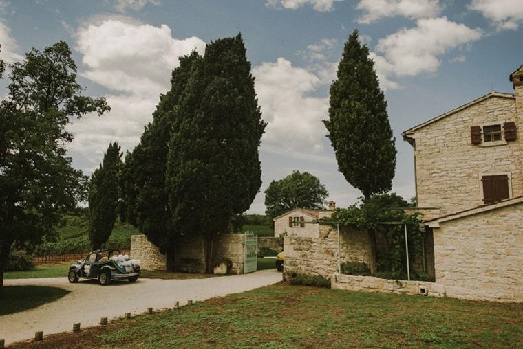 wedding in stancija meneghetti croatia