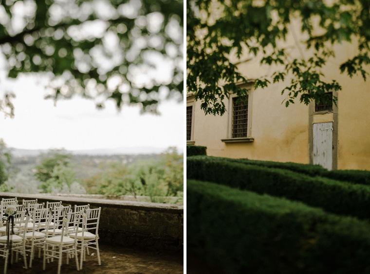 getting married in villa di maiano