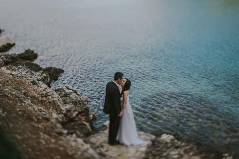 beautiful elopement in croatia