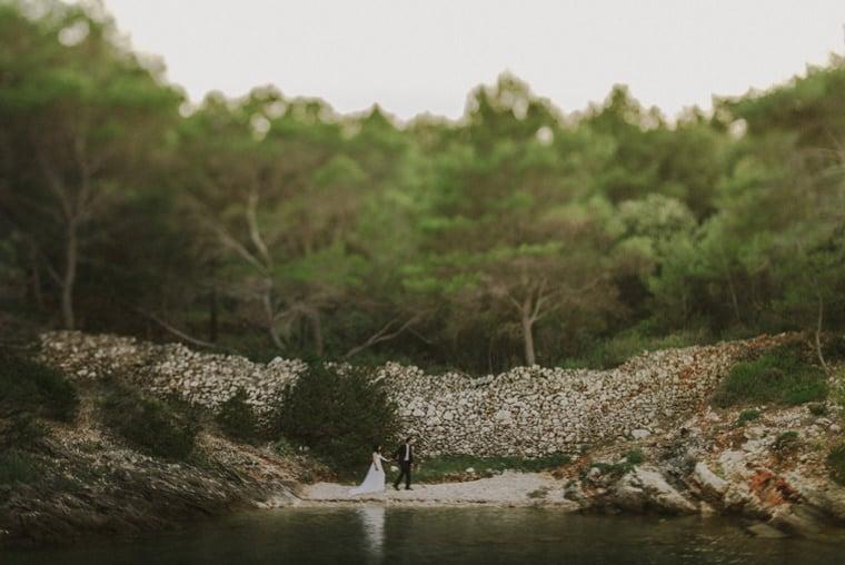 beautiful elopement location hvar croatia