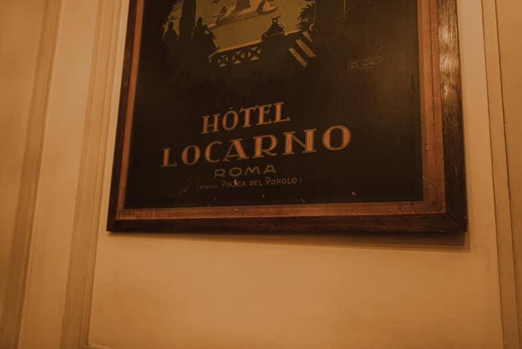 wedding reception hotel locarno rome
