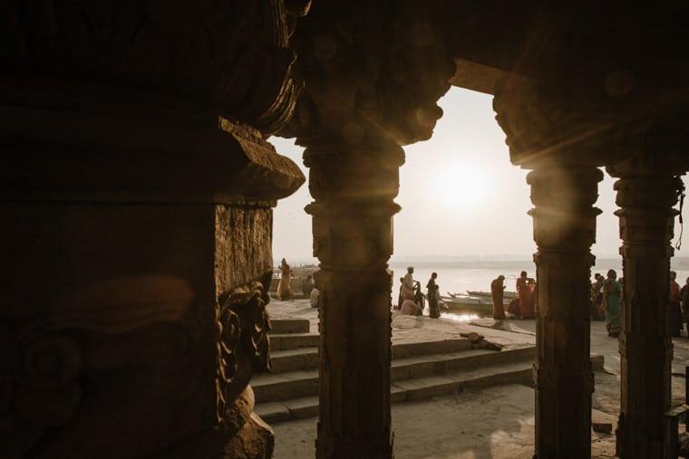 sunrise in jaisalmer india