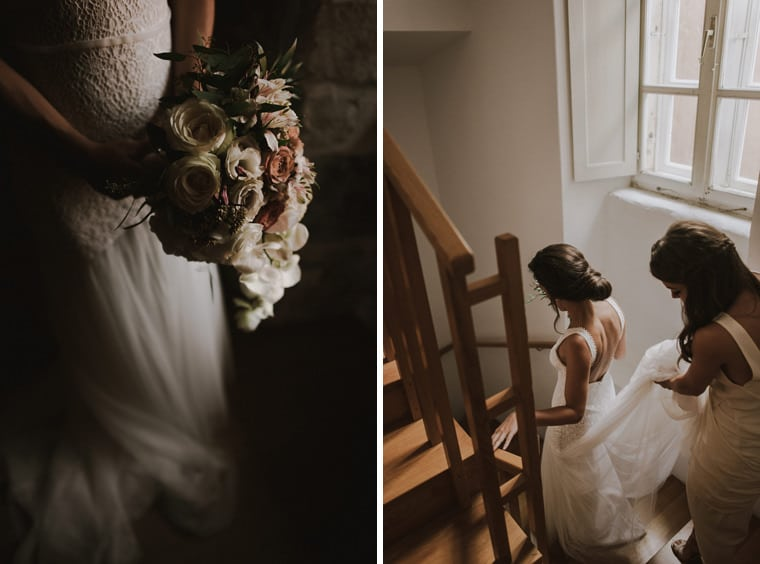 dubrovnik wedding flower bouquet