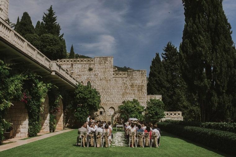 wedding in villa argentina dubrovnik