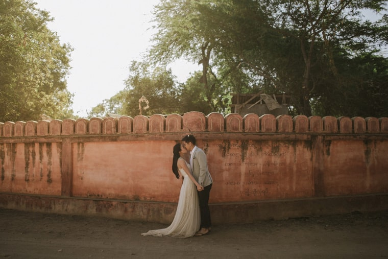 wedding venues in bagan