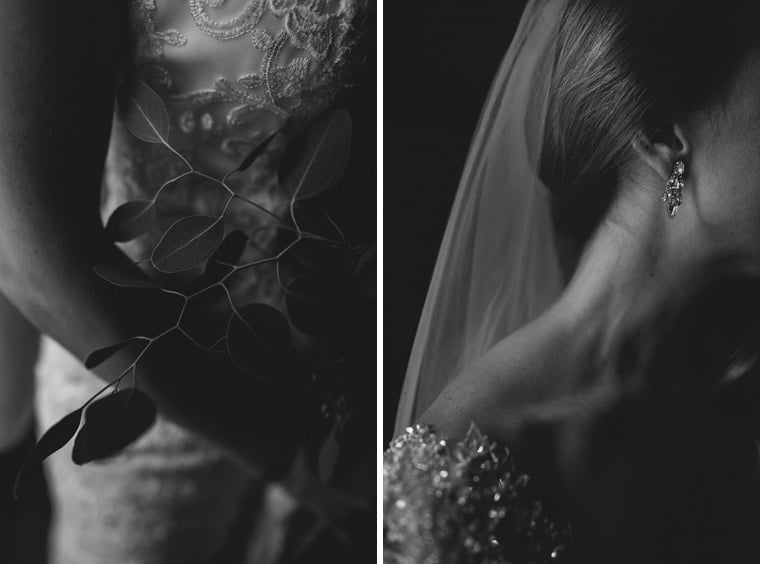 details of the bride blanche fleur
