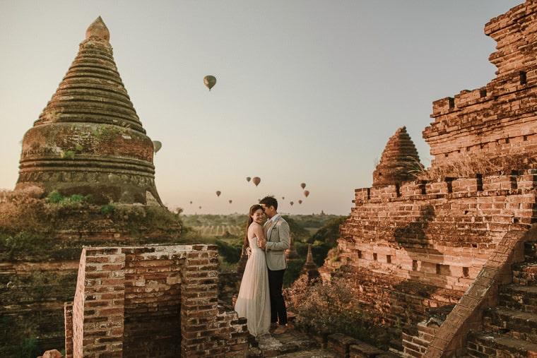looking for wedding photographer in bagan myanmar