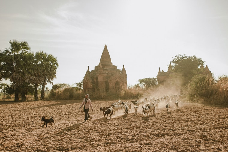 everyday life in bagan mysterious anmar