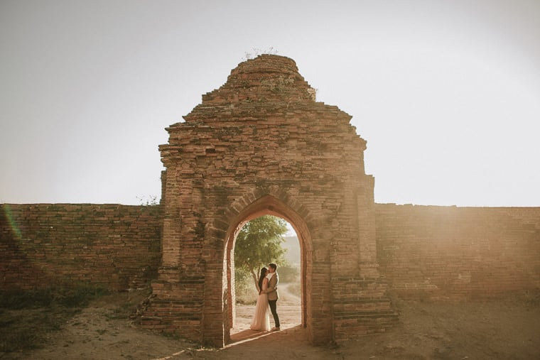 amazing wedding venues and places for elopement in bagan